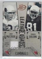 Josh McCown, Anquan Boldin, Bryant Johnson, Marcel Shipp /150
