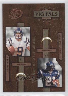 2004 Playoff Hogg Heaven Pig Pals #PP-25 - LaDainian Tomlinson, Drew Brees /1050