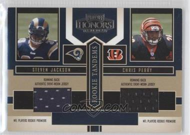 2004 Playoff Honors - Rookie Tandems - Jerseys [Memorabilia] #RT-15 - Chris Perry, Steven Jackson