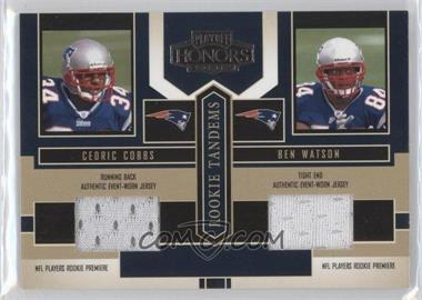 2004 Playoff Honors [???] #RT-14 - Cedric Cobbs, Ben Watson
