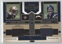 Devery Henderson, Philip Rivers, Tatum Bell, Darius Watts /250