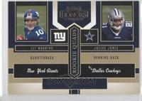 Eli Manning, Keary Colbert, Michael Clayton, Julius Jones /1250
