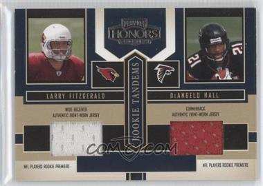 2004 Playoff Honors Rookie Tandems Jerseys [Memorabilia] #RT-3 - Larry Fitzgerald, DeAngelo Hall