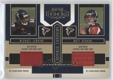 2004 Playoff Honors Rookie Tandems Jerseys [Memorabilia] #RT-4 - Michael Jenkins, Matt Schaub