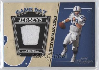 2004 Playoff Prestige - Game Day Jerseys #GJ-18 - Peyton Manning
