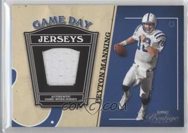 2004 Playoff Prestige Game Day Jerseys #GJ-18 - Peyton Manning