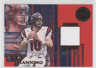 2004 Press Pass SE - Game-Used Jerseys - Bronze #JC/EM - Eli Manning /700