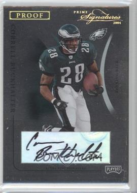 2004 Prime Signatures - [Base] - Gold Proof Signatures [Autographed] #77 - Correll Buckhalter /50