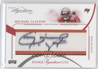 Rookie Signature Cuts - Michael Clayton /99