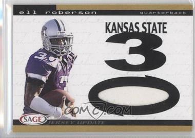 2004 SAGE Jersey Update [???] #16 - Eli Roberson