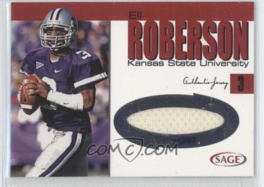 2004 SAGE Jerseys Red #J16 - Eli Roberson /99