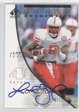 2004 SP Authentic #168 - Jammal Lord /990
