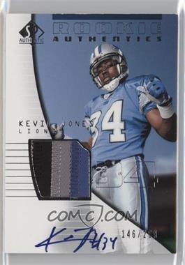 2004 SP Authentic #211 - Kevin Jones /299