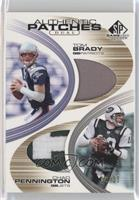 Chad Pennington, Tom Brady /25