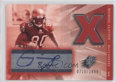 2004 SPx - [Base] #208 - Michael Clayton /1499