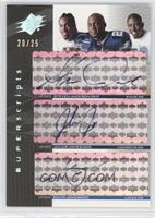 Steven Jackson, Julius Jones /25
