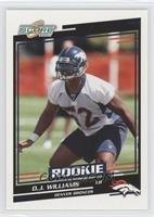 Rookies - D.J. Williams