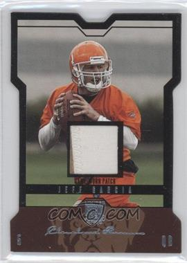 2004 Skybox L.E. - [Base] - Platinum Black Border Patches [Memorabilia] #35 - Jeff Garcia /15