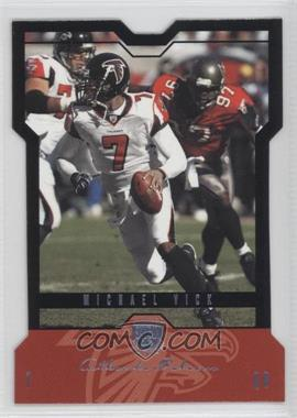 2004 Skybox L.E. Platinum Black Border #58 - Michael Vick /35
