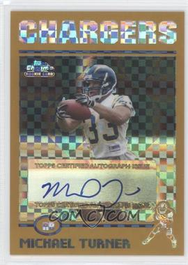 2004 Topps Chrome Gold X-Fractor #203 - Michael Turner /250