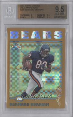 2004 Topps Chrome Gold X-Fractor #238 - Bernard Berrian /279 [BGS 9.5]