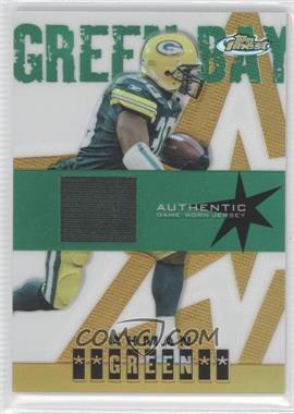 2004 Topps Finest Gold Refractor #107 - Ahman Green /50