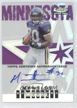 2004 Topps Finest Refractor #114 - Mewelde Moore /199