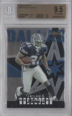 2004 Topps Finest #63 - Julius Jones [BGS 9.5]