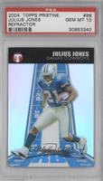 Julius Jones /1099 [PSA 10]