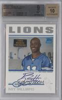Roy Williams [BGS 9]