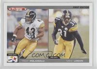 Tommy Polley, Mike Logan, Troy Polamalu