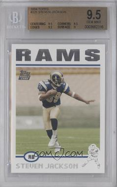 2004 Topps #325 - Steven Jackson [BGS9.5]