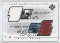 Jerry Rice, Terrell Owens /99