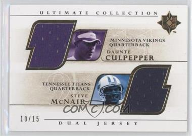 2004 Ultimate Collection [???] #UGJ2-CM - Daunte Culpepper /15