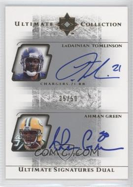 2004 Ultimate Collection [???] #US2-2 - Ahman Green /50