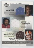 Roy Williams, Larry Fitzgerald, Kellen Winslow Jr.