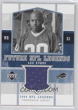 2004 Upper Deck NFL Legends - Future NFL Legends Throwbacks #FLT-LE - Lee Evans