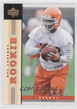 2004 Upper Deck NFL Legends [???] #123 - Joe Echema /25