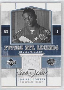 2004 Upper Deck NFL Legends [???] #FLT-RE - Reggie Williams