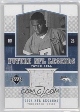 2004 Upper Deck NFL Legends [???] #FLT-TB - Tatum Bell