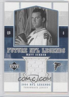 2004 Upper Deck NFL Legends Future NFL Legends Throwbacks #FLT-8 - Matt Schaub