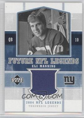 2004 Upper Deck NFL Legends Future NFL Legends Throwbacks #FLT-EM - Eli Manning