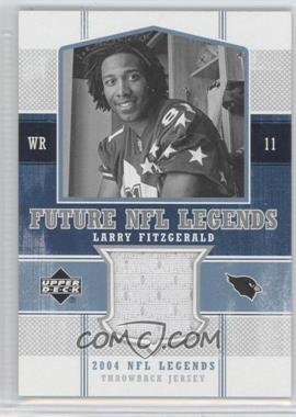 2004 Upper Deck NFL Legends Future NFL Legends Throwbacks #FLT-LF - Larry Fitzgerald