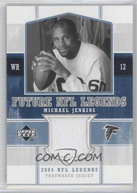 2004 Upper Deck NFL Legends Future NFL Legends Throwbacks #FLT-MJ - Michael Jenkins