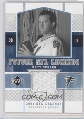 2004 Upper Deck NFL Legends Future NFL Legends Throwbacks #FLT-MS - Matt Schaub