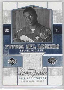 2004 Upper Deck NFL Legends Future NFL Legends Throwbacks #FLT-RE - Reggie Williams