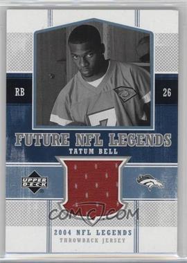 2004 Upper Deck NFL Legends Future NFL Legends Throwbacks #FLT-TB - Tatum Bell