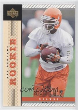 2004 Upper Deck NFL Legends Gold #123 - Joe Echema /25