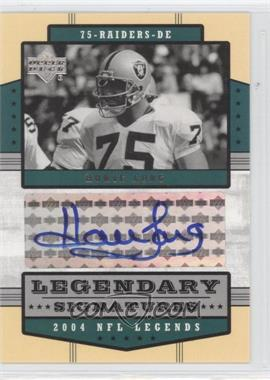 2004 Upper Deck NFL Legends Legendary Signatures #LS-HL - Howie Long