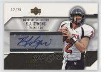 B.J. Symons /25